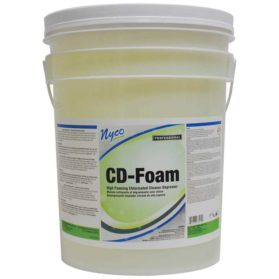 Cd Foam Clnr Degreaser Chlorinated Gallon 4/cs