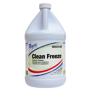 Clean Freeze Freezer Cleaner 4 gal/cs