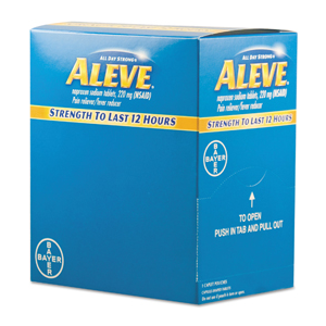 Aleve Pain Reliever Tablets 50pk/bx