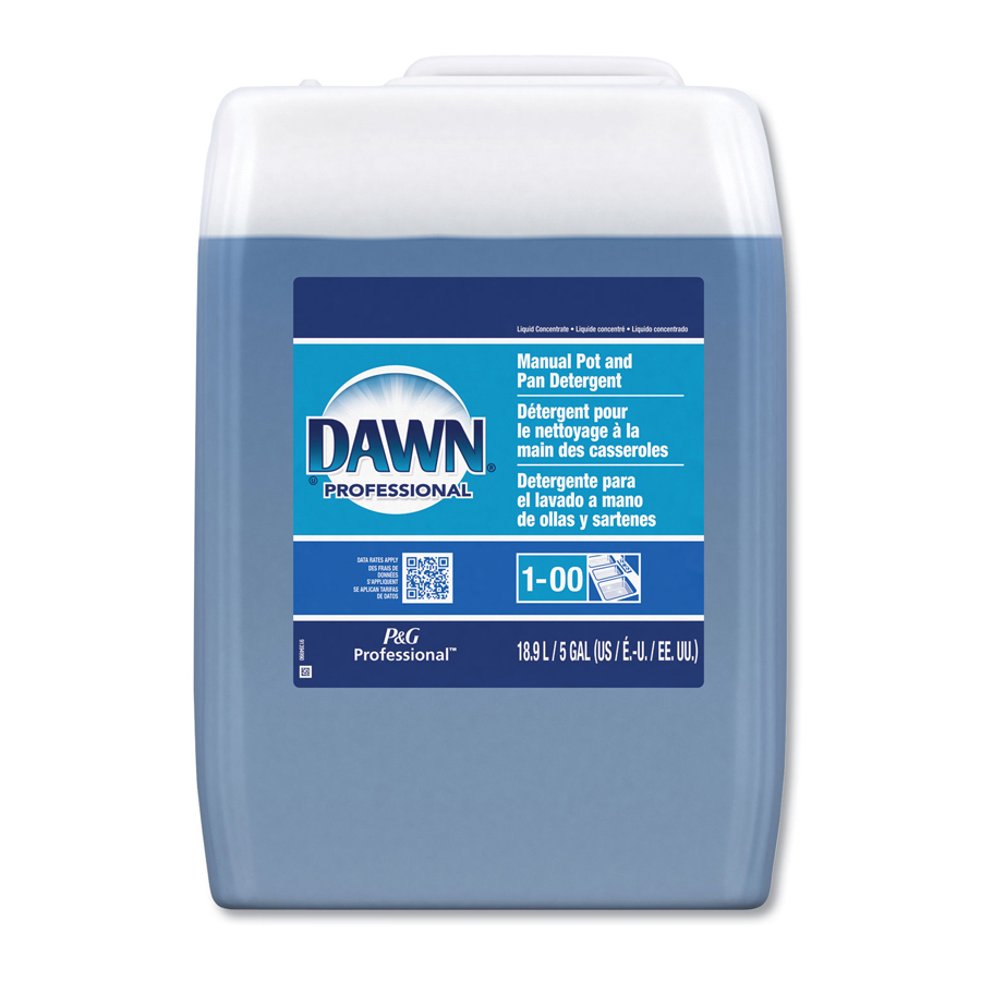 Dawn Dish Soap Blue 5 Gallon Pail