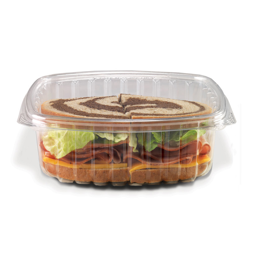 Crystal Seal Container 32oz Dome Lid 200/cs