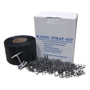 """Strap Kit Ppy .5""""X3000' 300# Bs 300 Buckles Tens"""