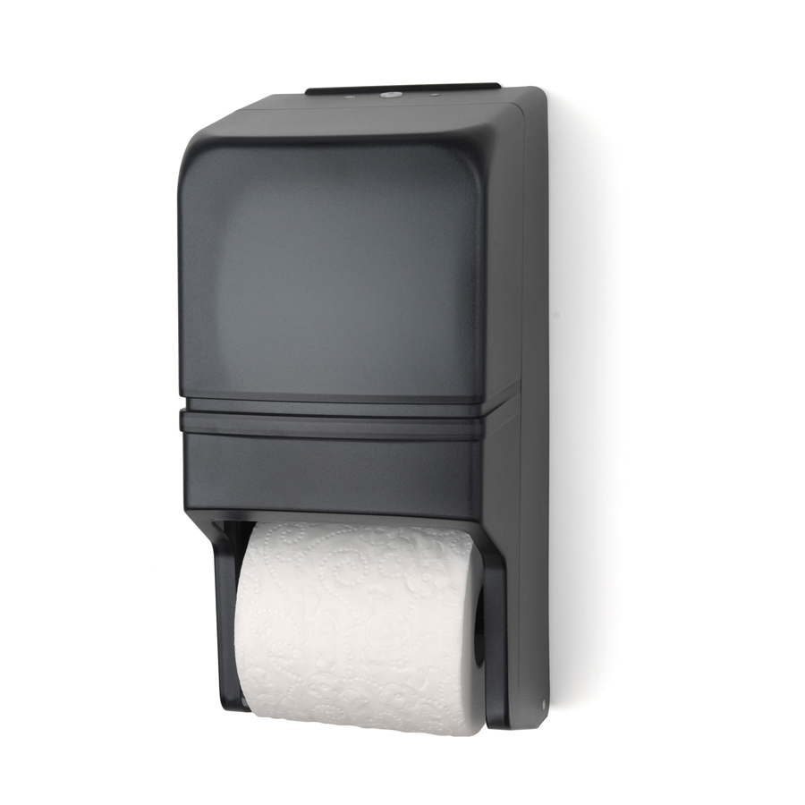 Bath Tissue Dispenser Black 2 Roll Each