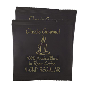 Coffee Filter Packets 4-Cup 200/cs