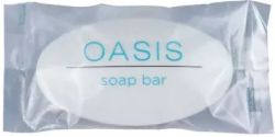 Bar Soap Oasis Oval Wrapped 13 Gram 1000/cs