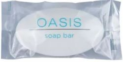Bar Soap Oasis Oval Wrapped 17 Gram 500/cs