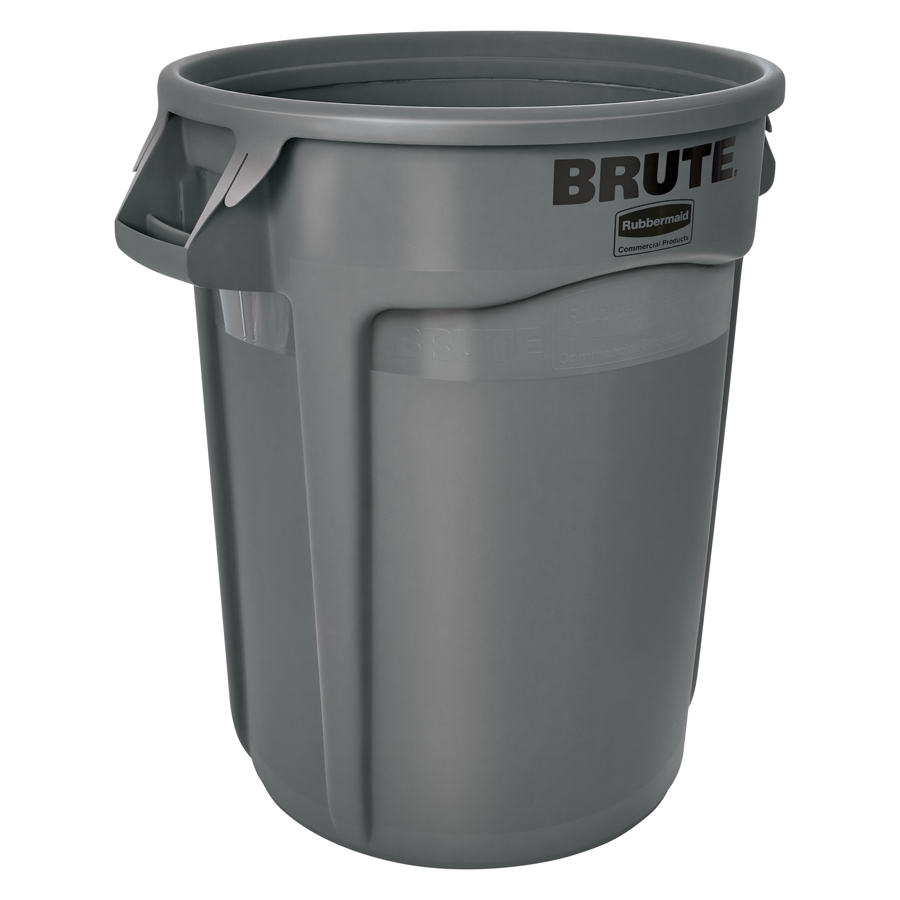 Brute Wastebasket  Vented 32Gal Gray Each