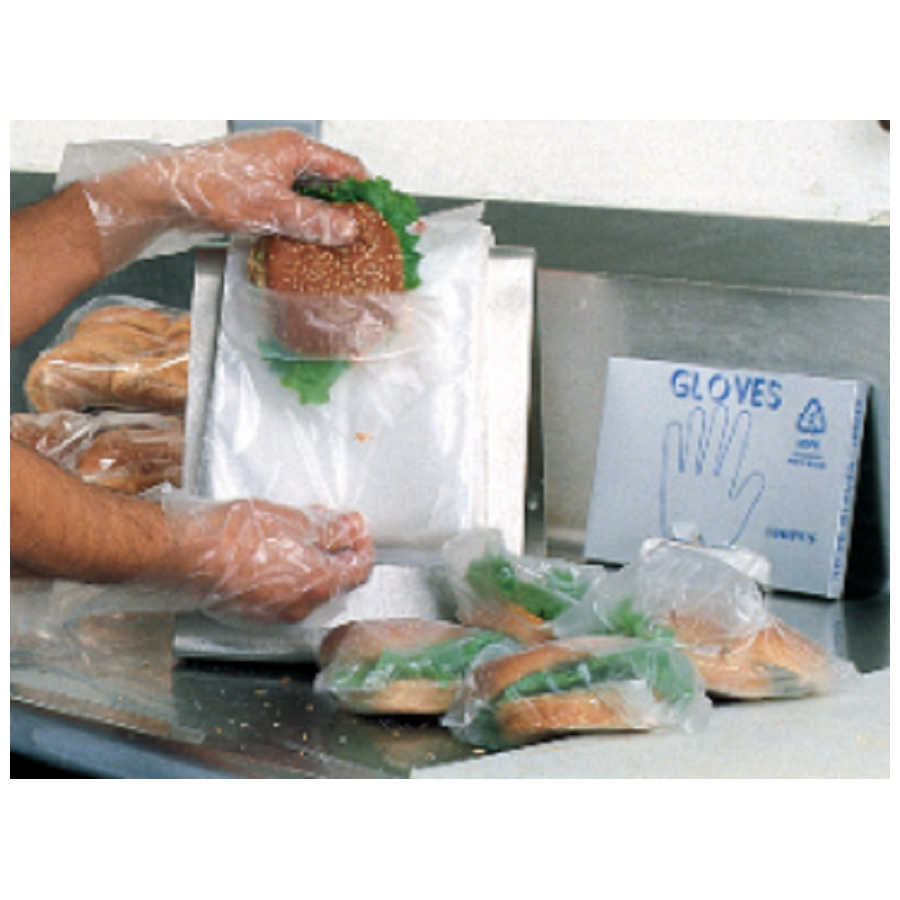 "Deli Bag Hi Density Fold Top 8""X8.25"" 2000/cs"