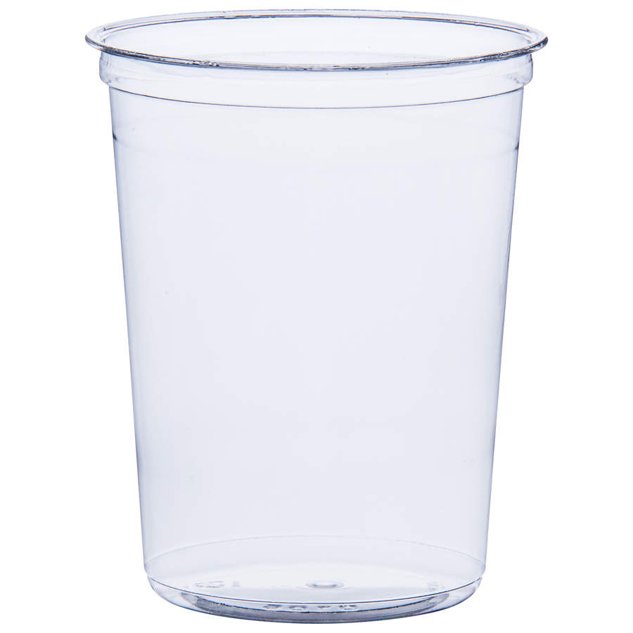 Deli Cup Hi Clarity 32oz  Clear 500/cs