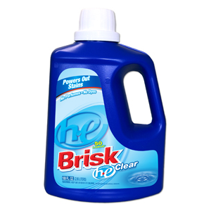 Brisk Laundry Detergent He Unscented 100oz 4/cs