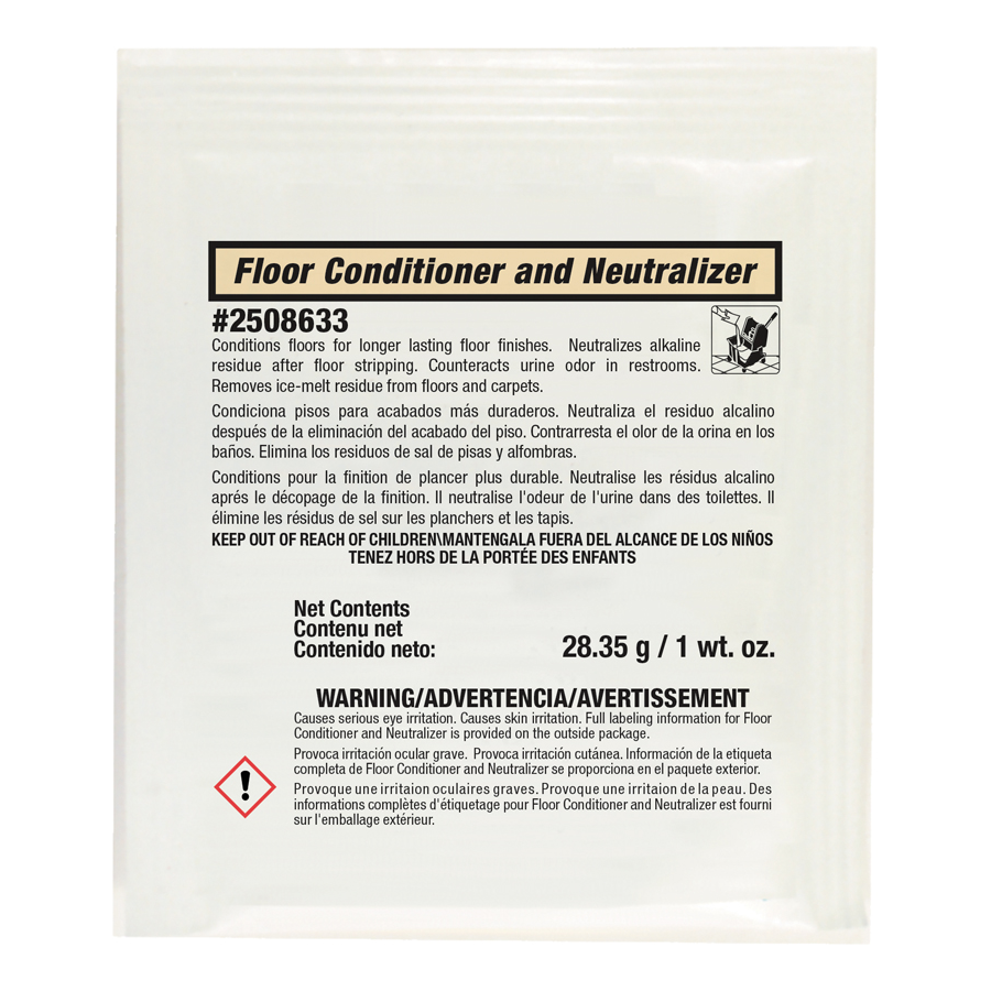 Floor Neutralizer  Premeasured Packs 72/cs