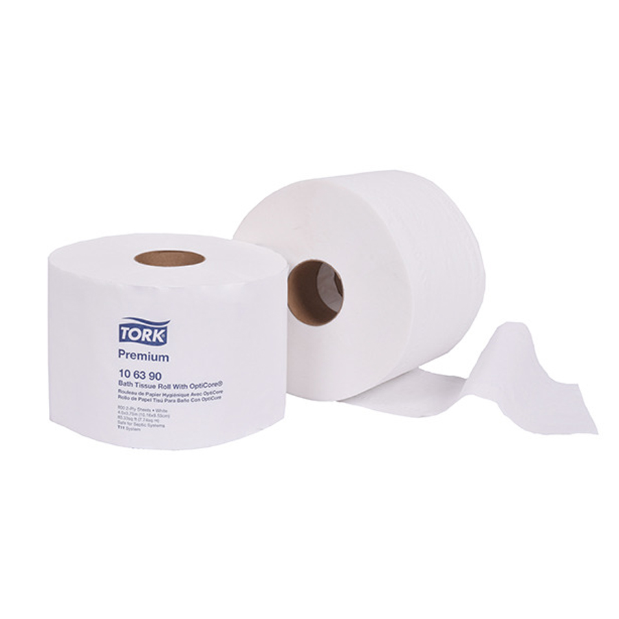 Bath Tissue Opticore  2-Ply 800/rl 36/cs