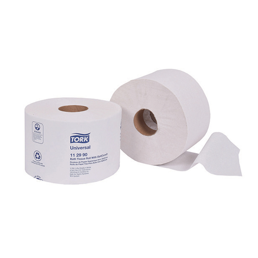 Bath Tissue Opticore Tork 1-Ply 1755/rl 36/cs