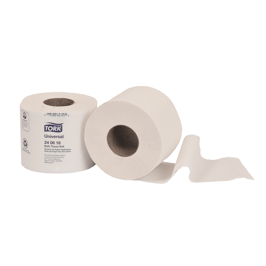 Bath Tissue Tork 2-Ply 616/rl 48/cs