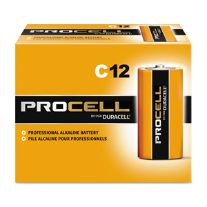 Procell Battery Size C 12/bx