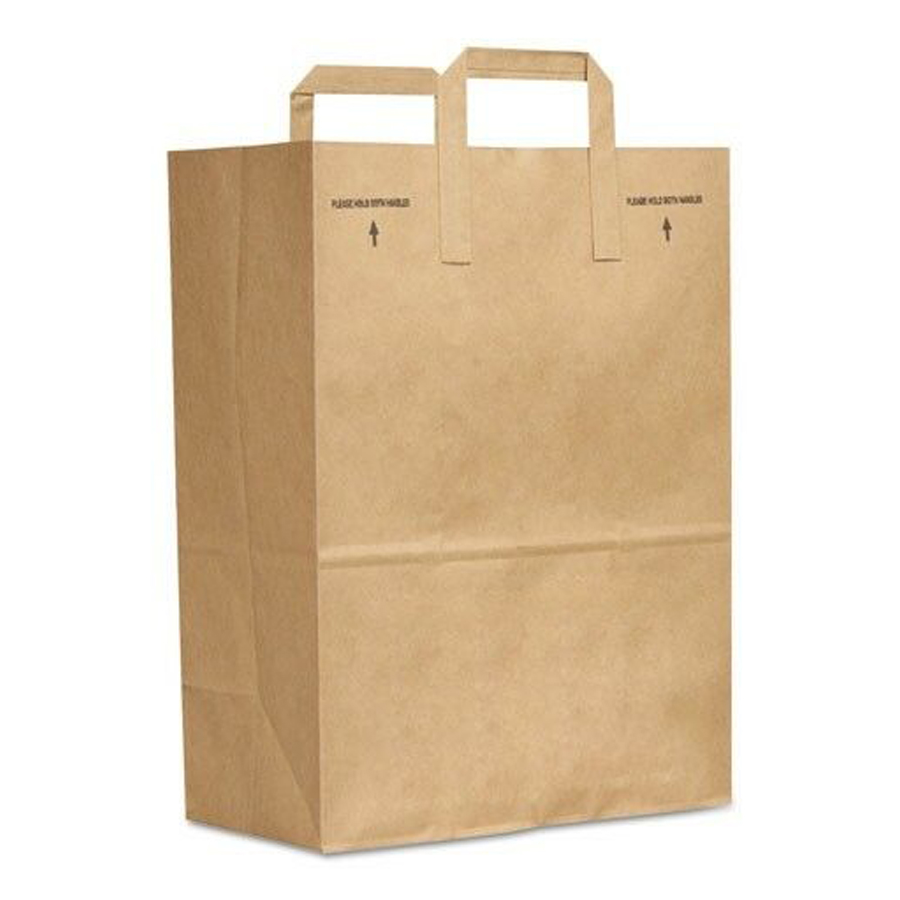 Schilling Supply Paper Bag Brown Handle Up 1 6 Bbl 70 300 Bl