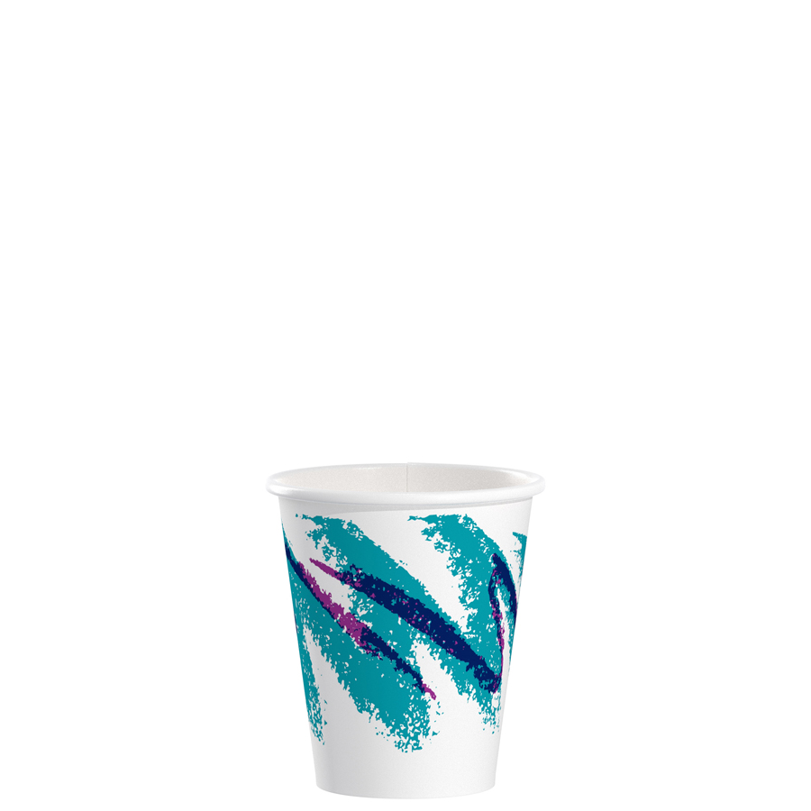 Schilling Supply | Paper Hot Cup 6oz Jazz 1000/cs