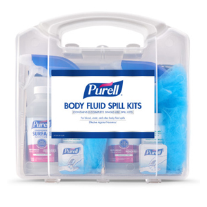 Purell Double Kit Clam Shell Bf Spill Kit ea